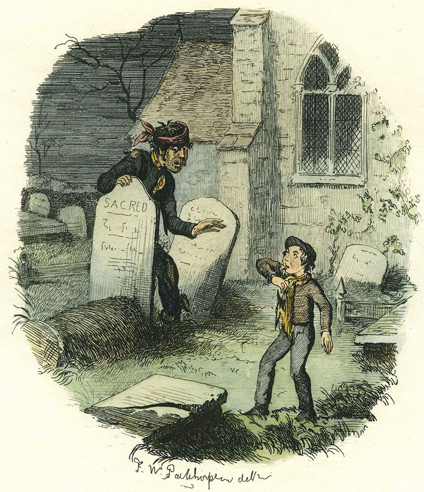 Great Expectations - Hand-Colored F.W.Pailthorpe Illustration