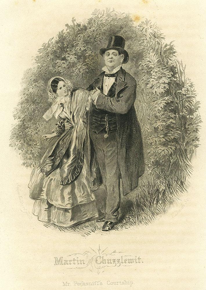 Martin Chuzzlewit - Mr. Pecksniff's Courtship