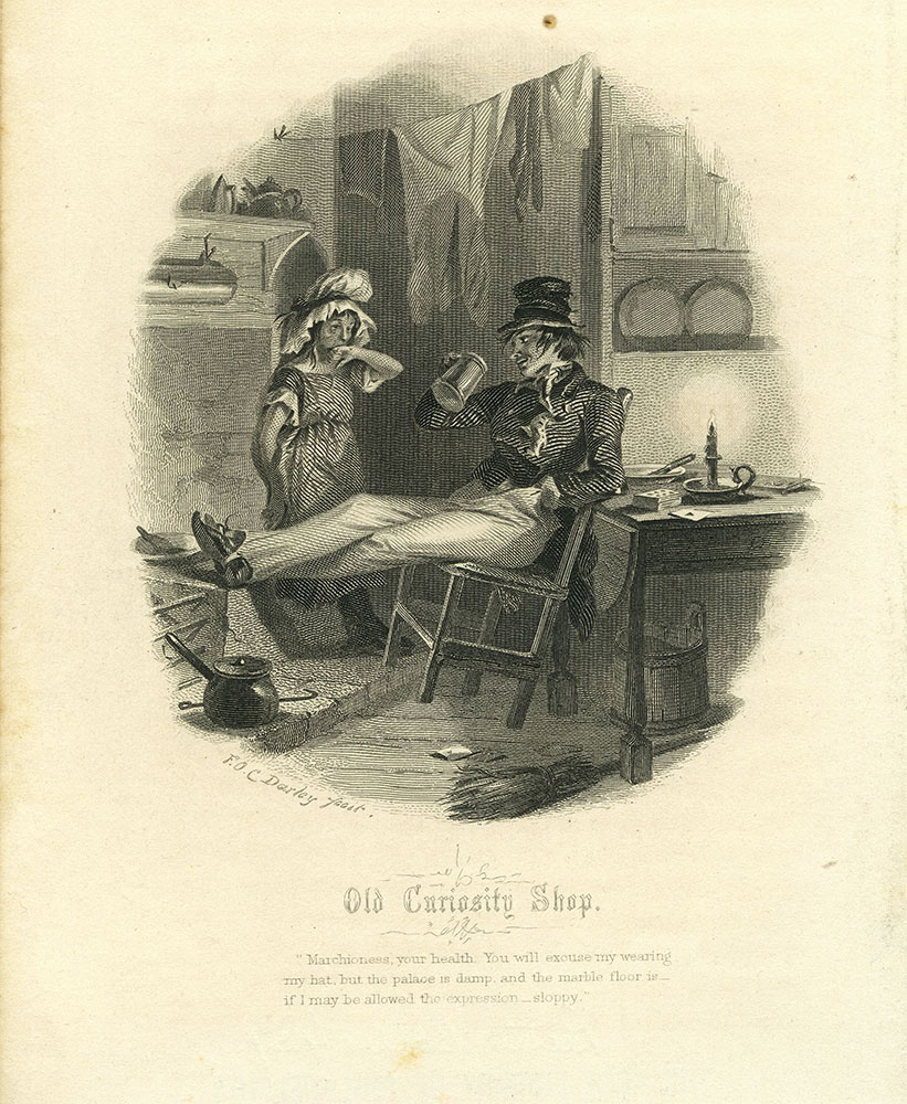 Old Curiosity Shop - The Marchioness and Mr Swiveller