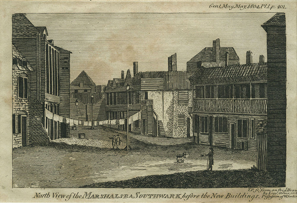 North View of the Marshalsea, Southwark
