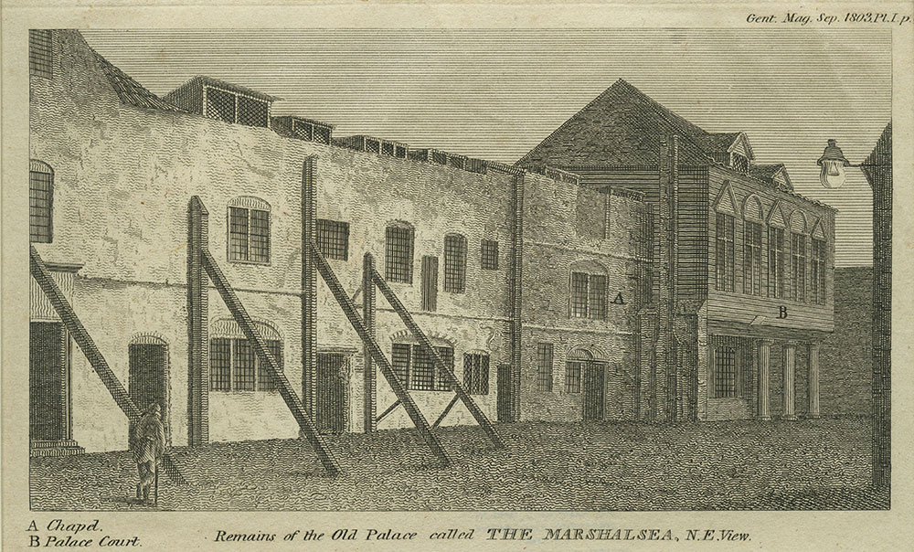 The Marshalsea - Remains of the Old Palace - N.E. View