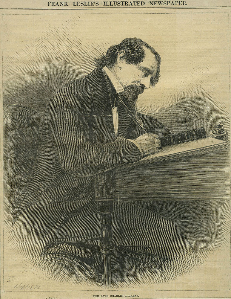 The Late Charles Dickens