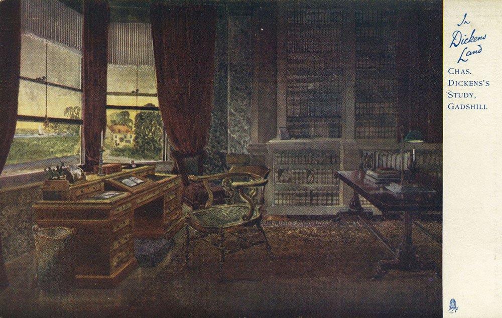 In Dickens Land - Charles Dickens' Study