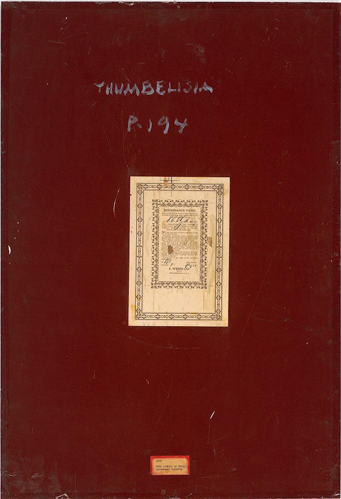 Thumbelisa - verso
