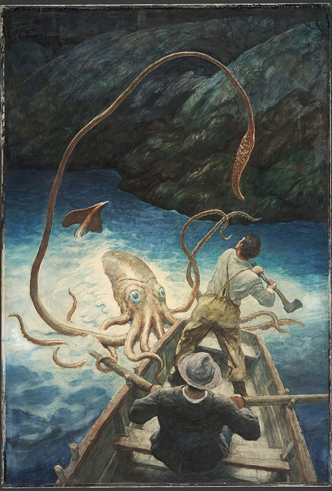 The Adventure of the Giant Squid