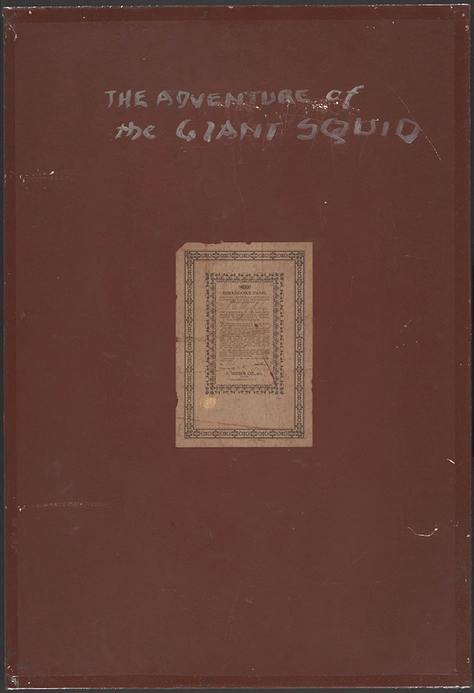The Adventure of the Giant Squid - verso