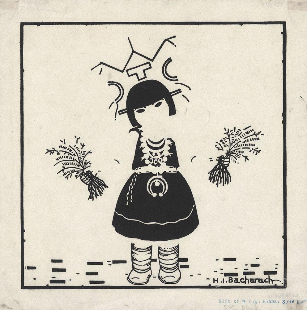 Study of Little Corn Dancer, fifth