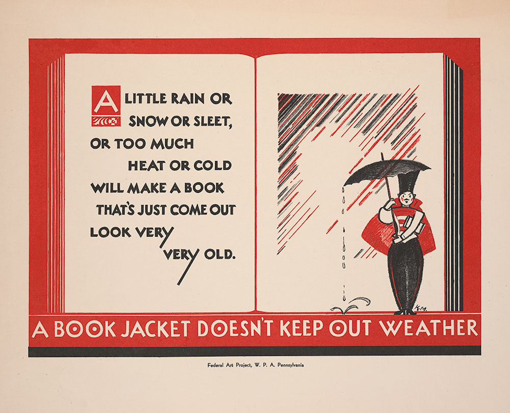 A Book Jacket Doesn't Keep Out Weather