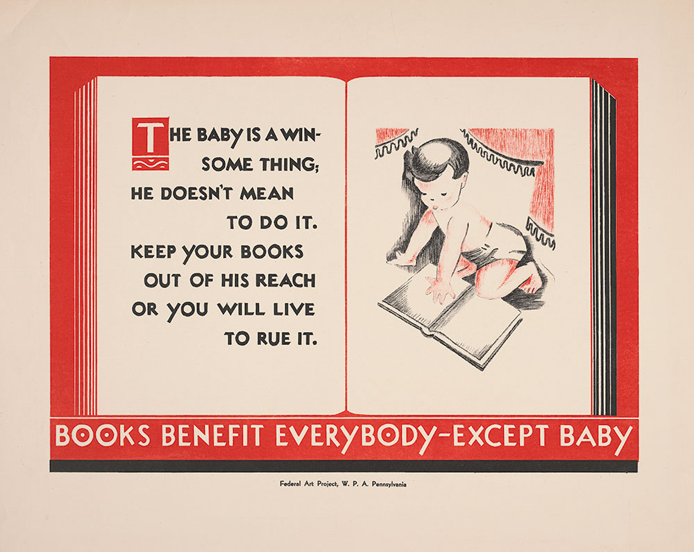 Books Benefit Everybody - Except Baby