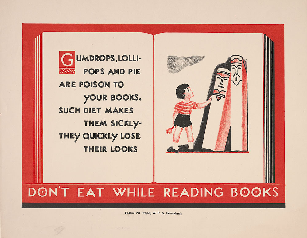 Don't Eat While Reading Books