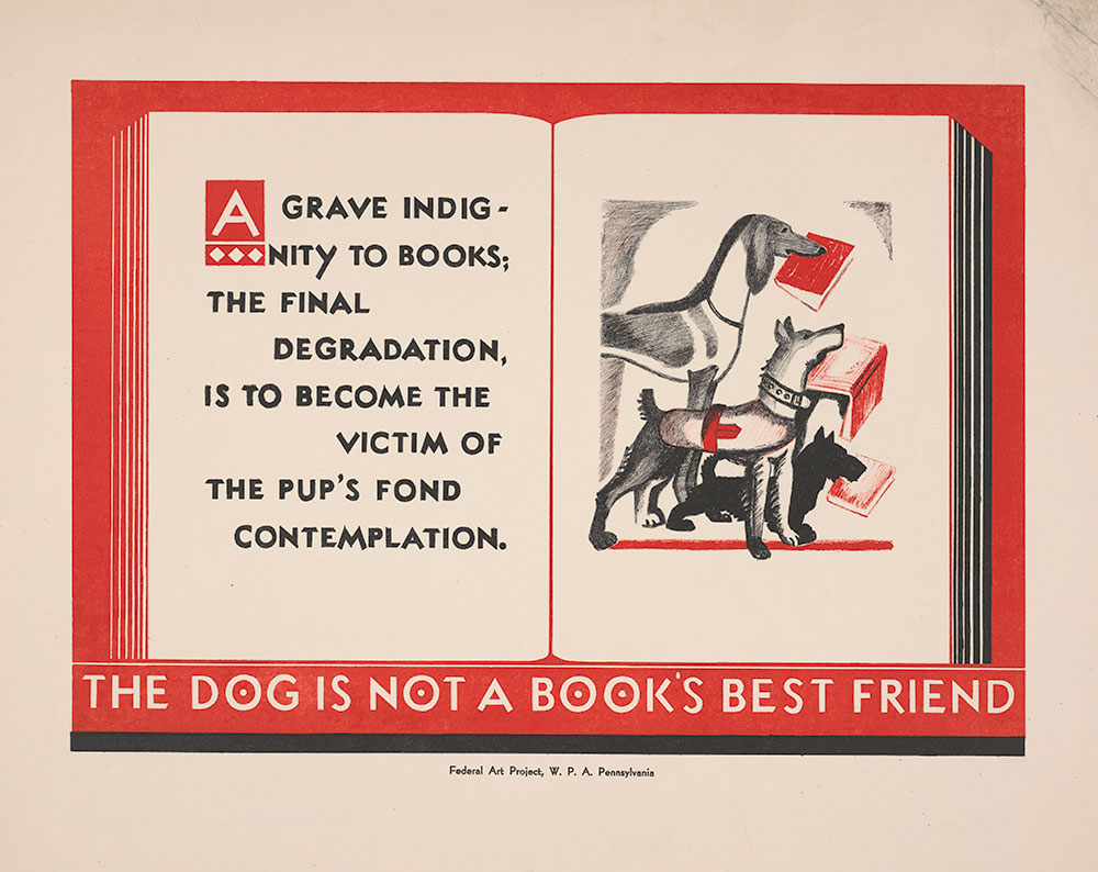 The Dog Is Not A Book's Best Friend