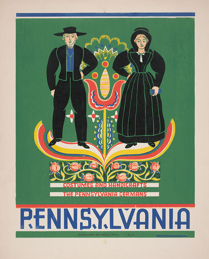 Costumes and Handcrafts of the Pennsylvania Germans