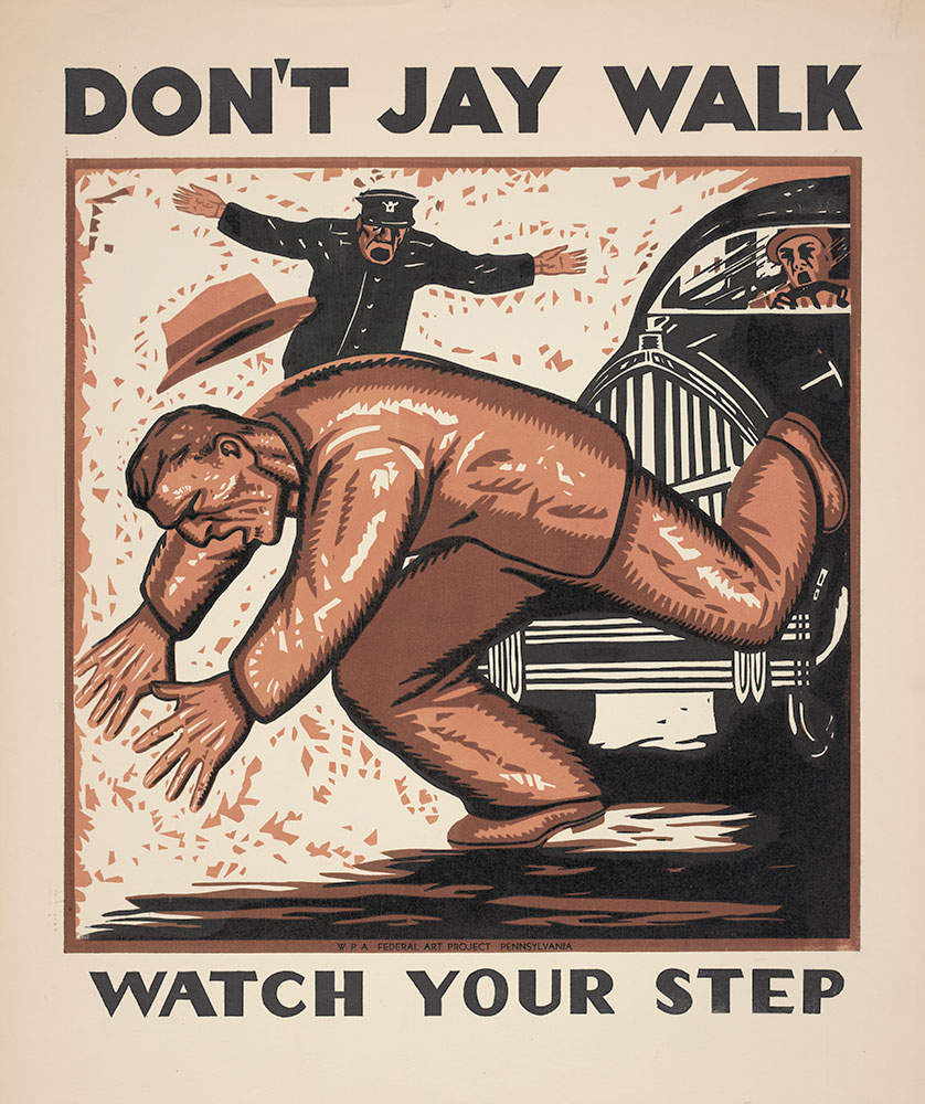 Don't Jay Walk - Watch Your Step