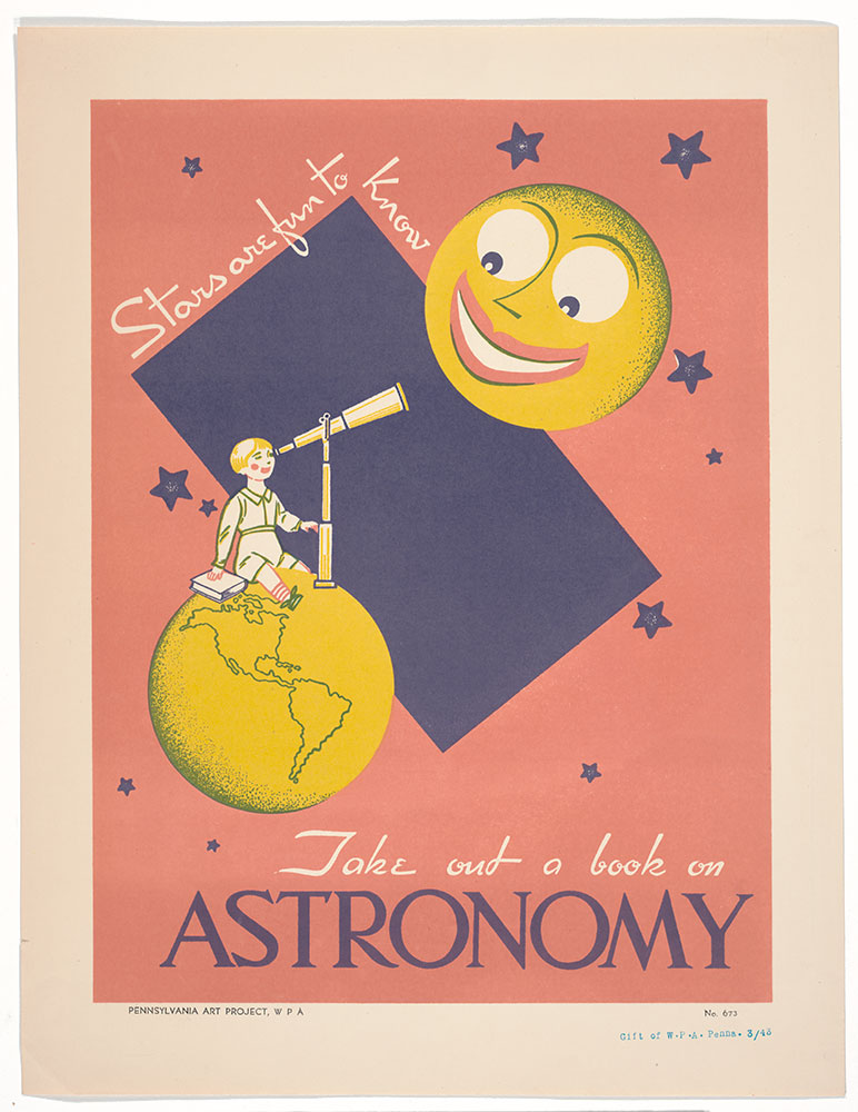 Take Out A Book On Astronomy