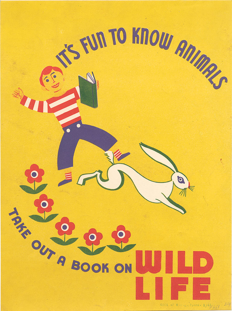 Take Out A Book On Wildlife