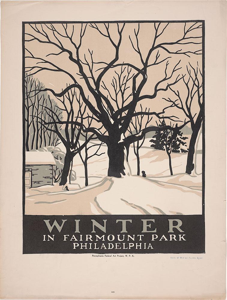 Winter in Fairmount Park