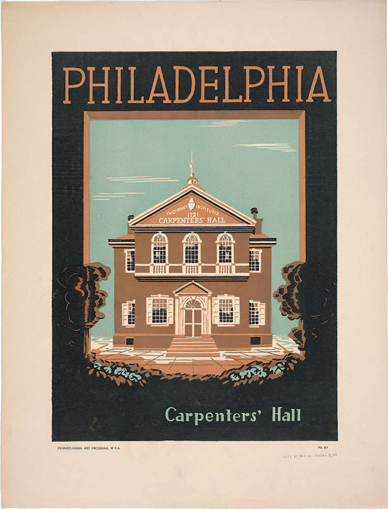 Philadelphia: Carpenters' Hall