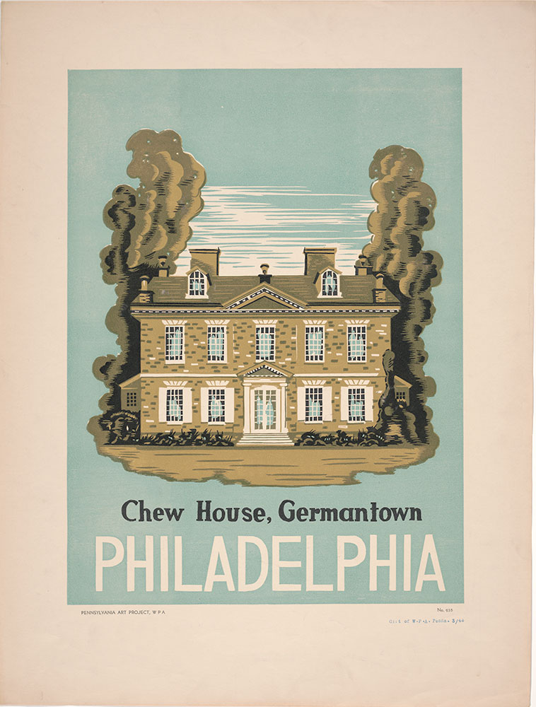 Chew House, Germantown, Philadelphia