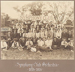 Symphony Club Orchestra 1915-1916 icon image