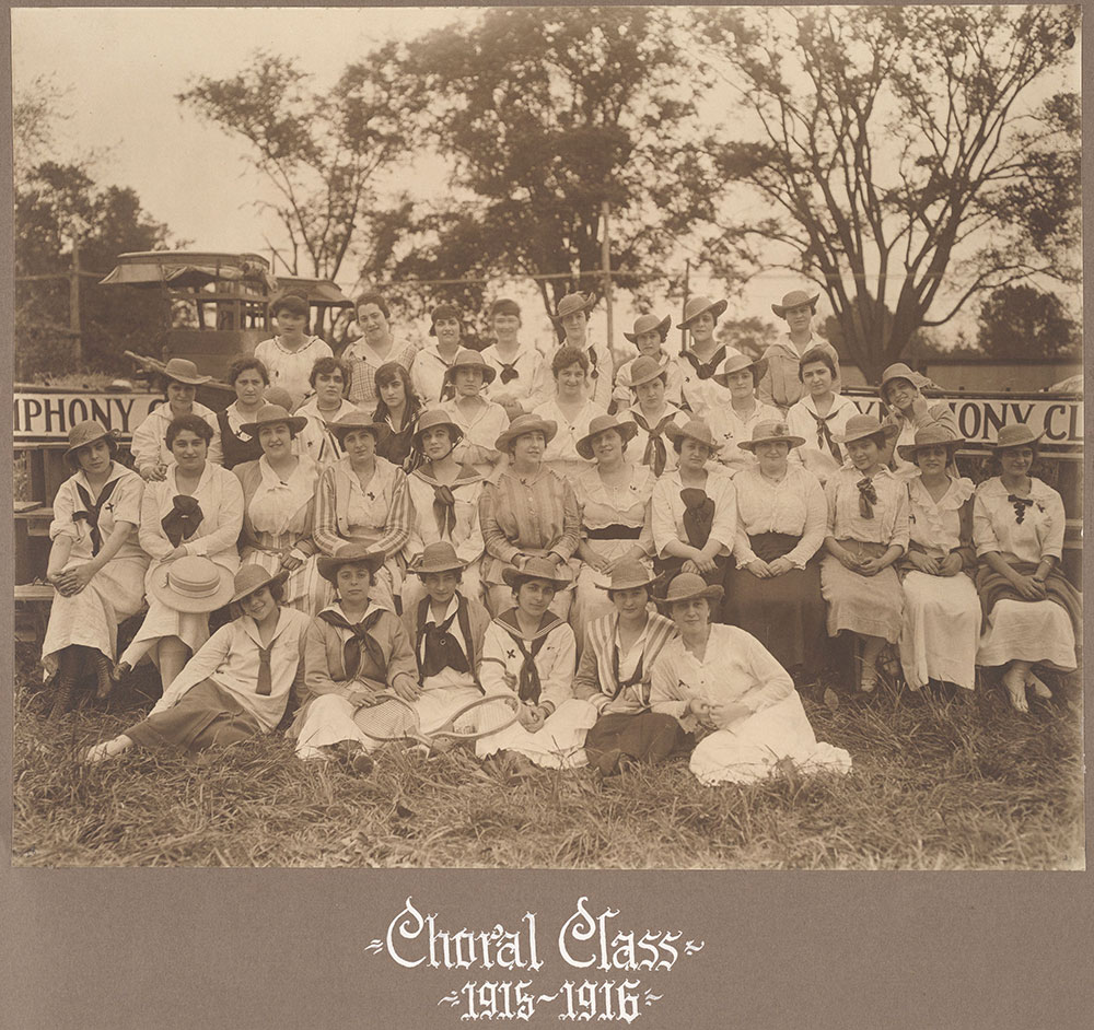 Choral Class 1915-1916