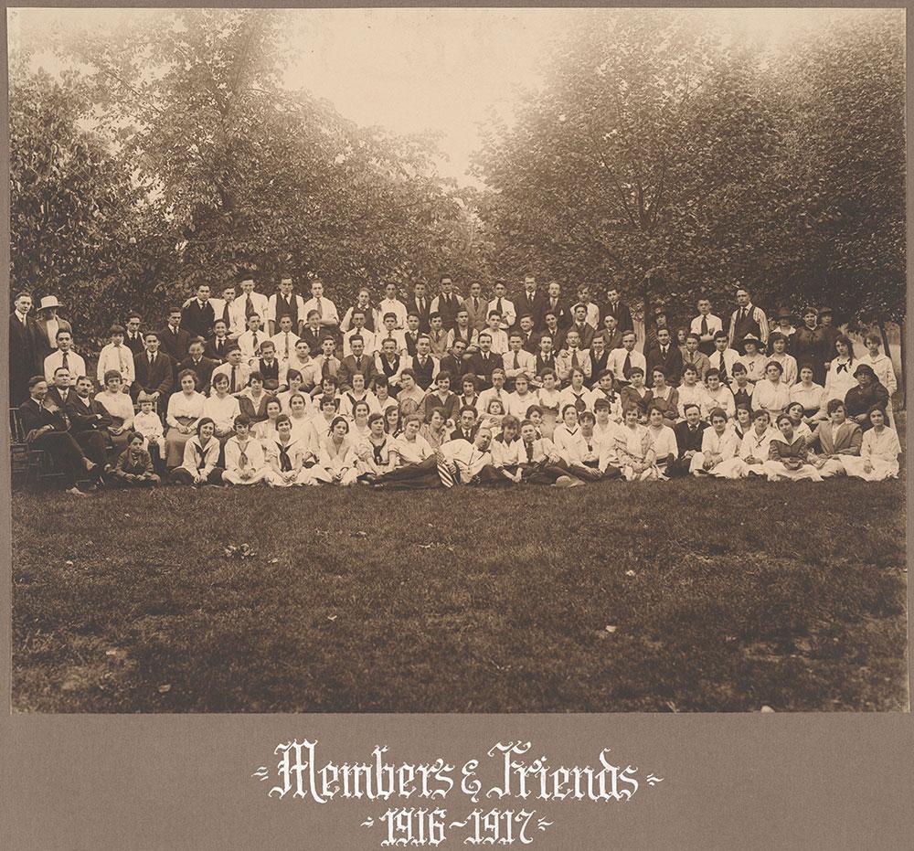 Members & Friends 1916-1917