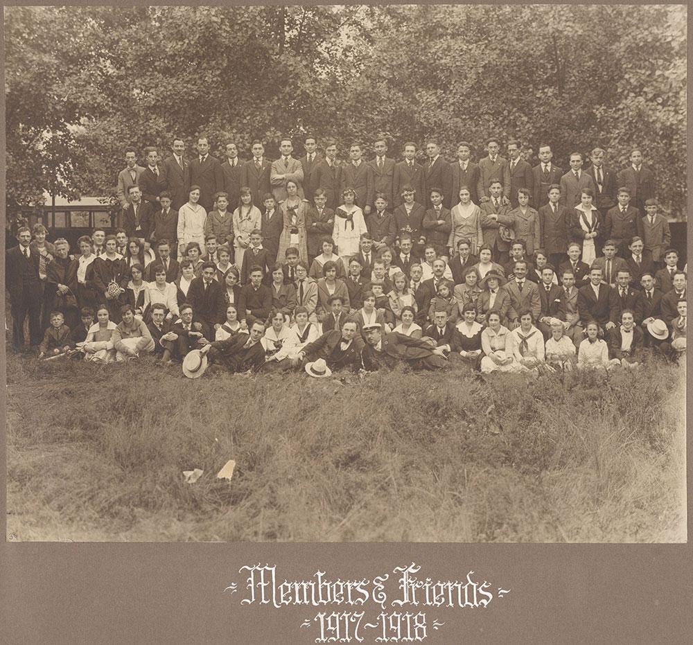 Members & Friends 1917-1918