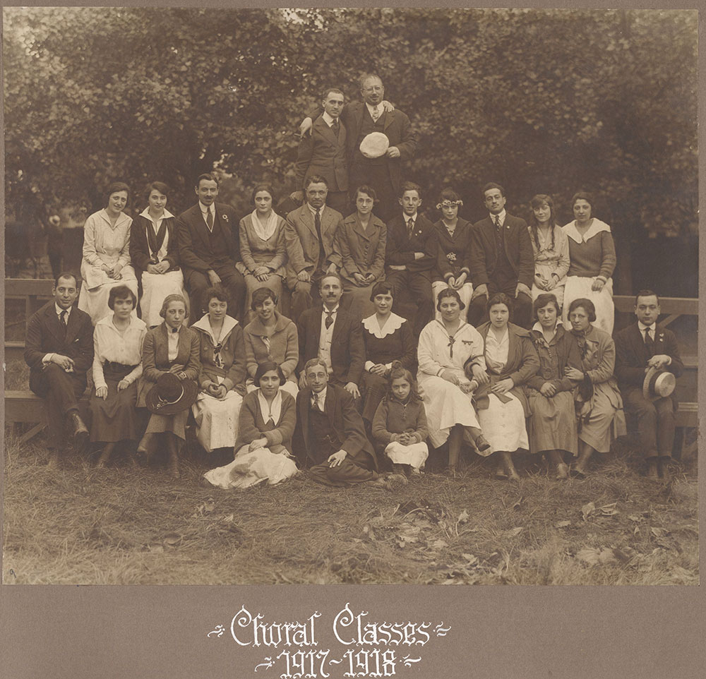 Choral Classes 1917-1918
