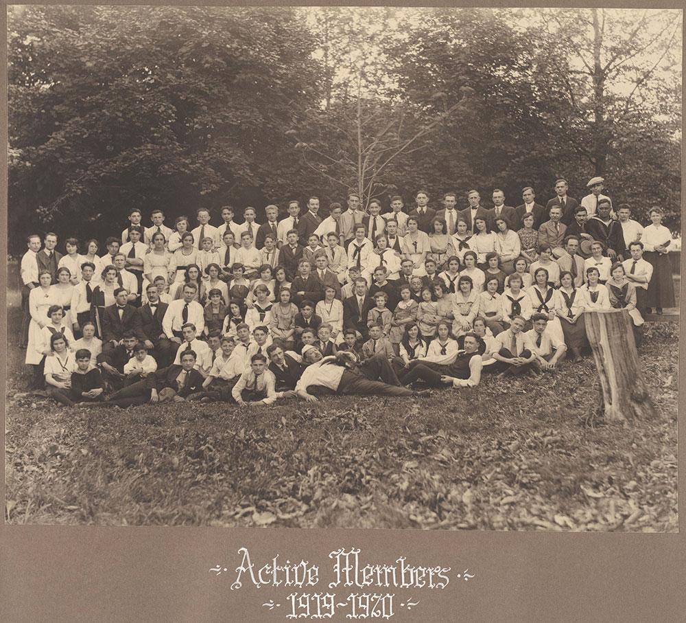 Active Members 1919-1920