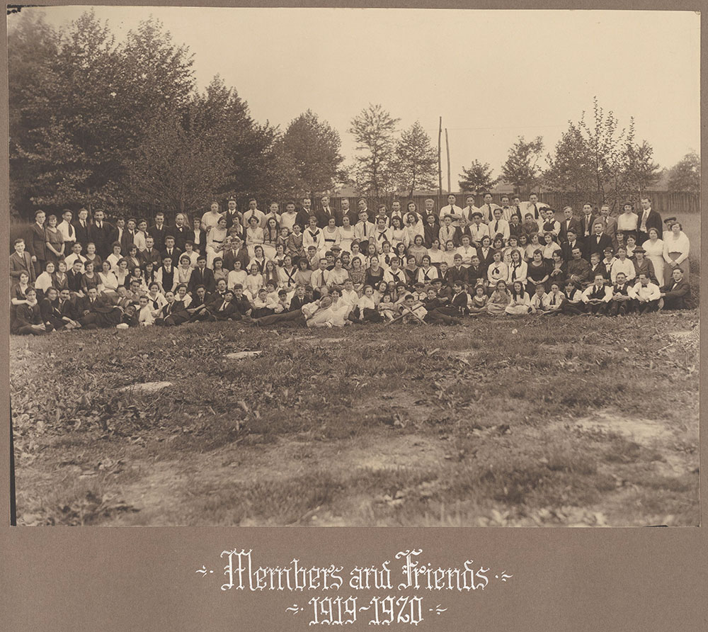 Members and Friends 1919-1920
