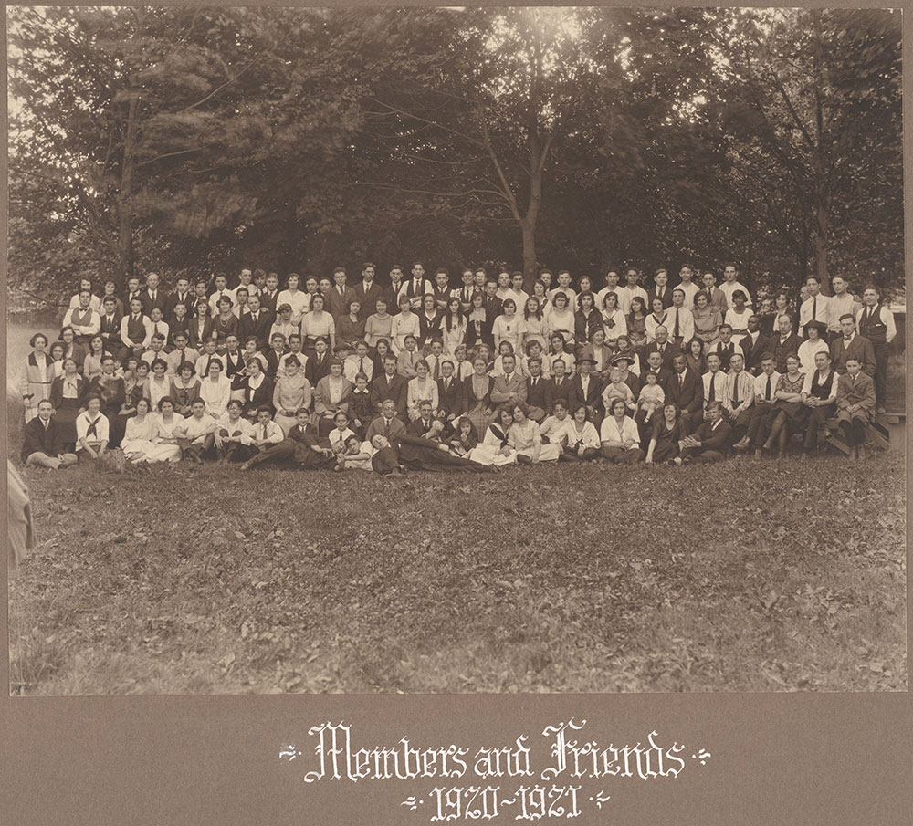 Members and Friends 1920-1921