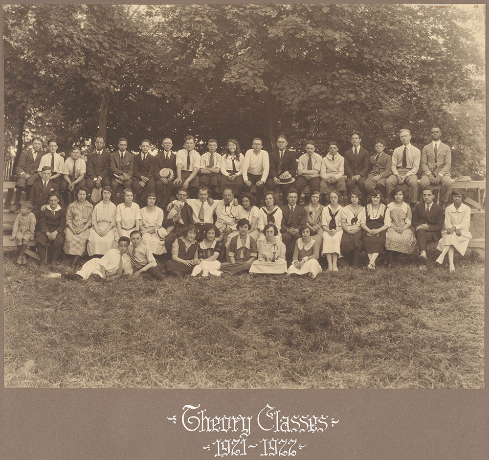 Theory Classes 1921-1922