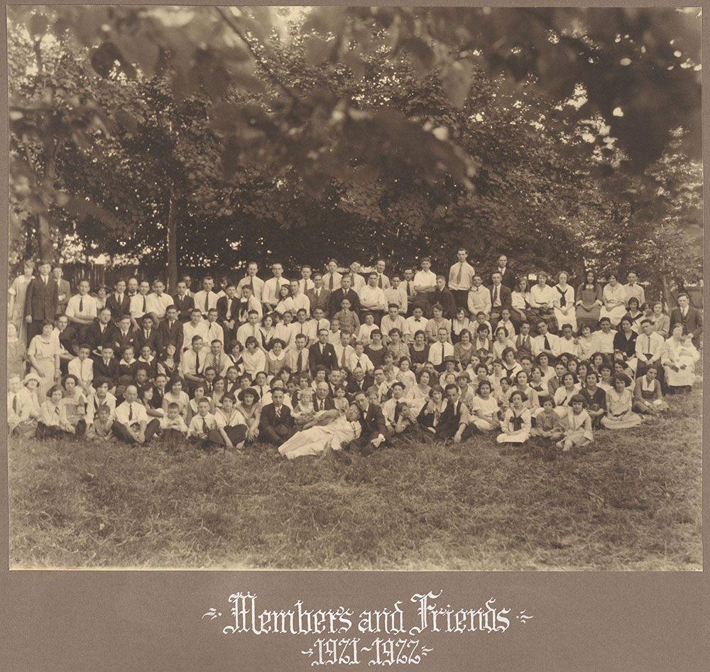 Members and Friends 1921-1922