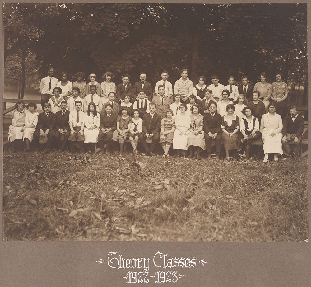 Theory Classes 1922-1923