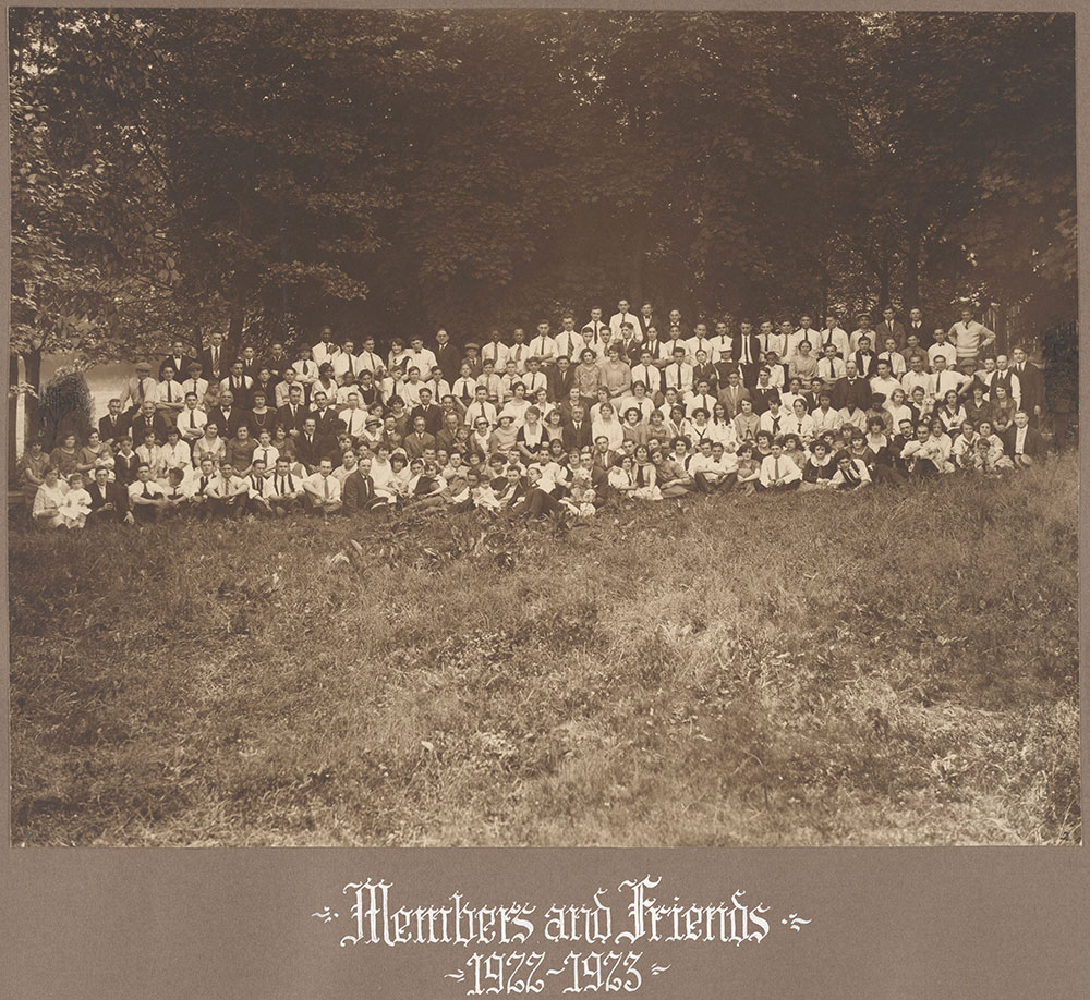 Members and Friends 1922-1923