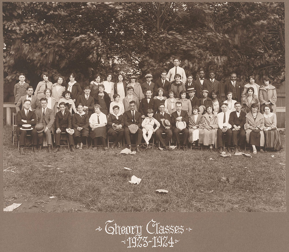 Theory Classes 1923-1924