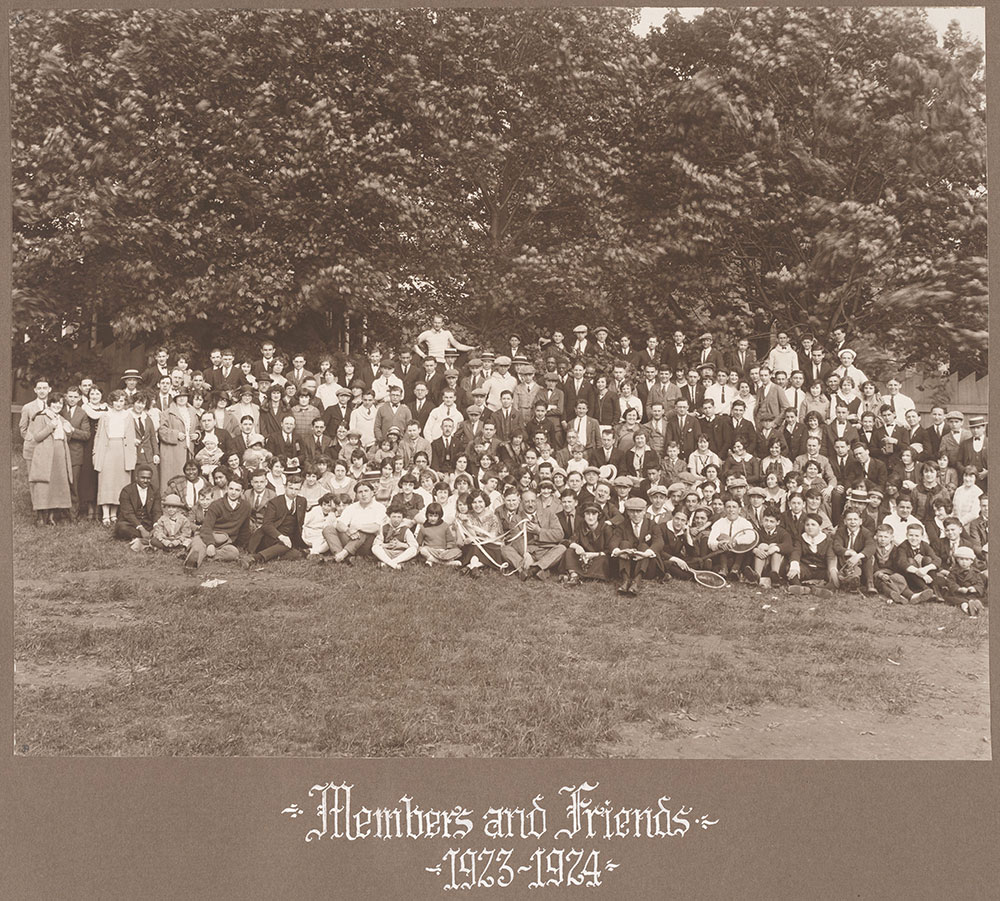 Members and Friends 1923-1924