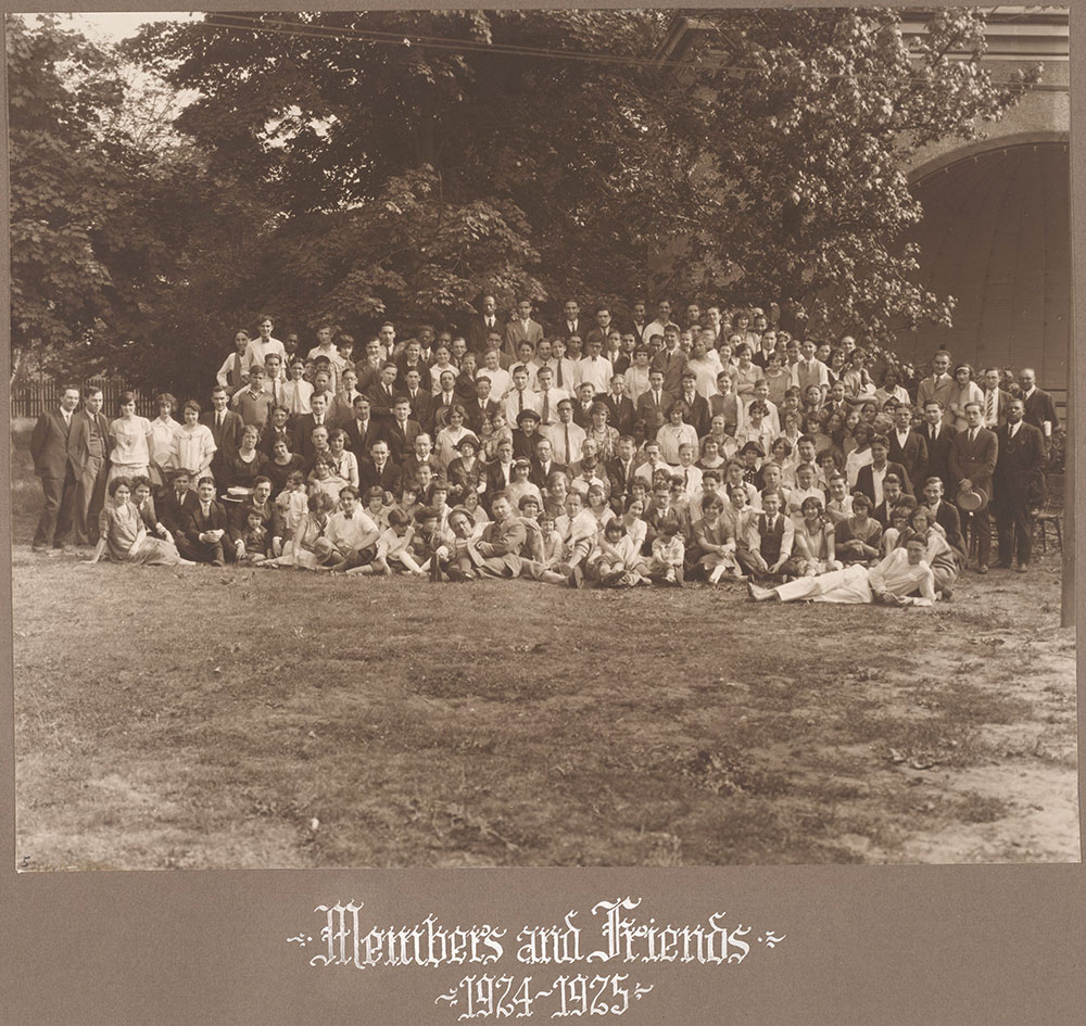 Members and Friends 1924-1925