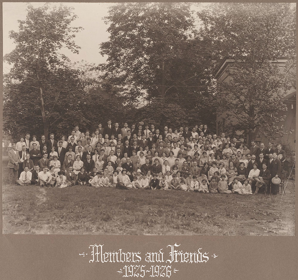 Members and Friends 1925-1926