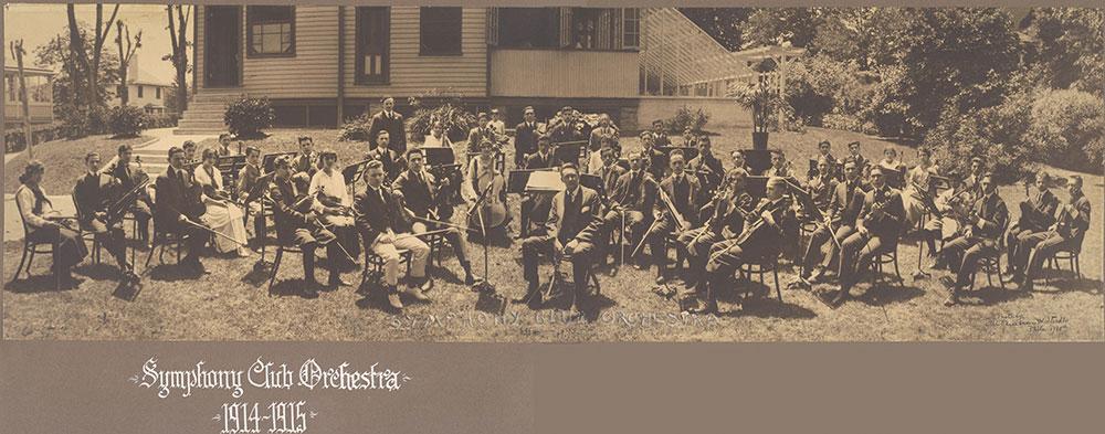 Symphony Club Orchestra 1914-1915