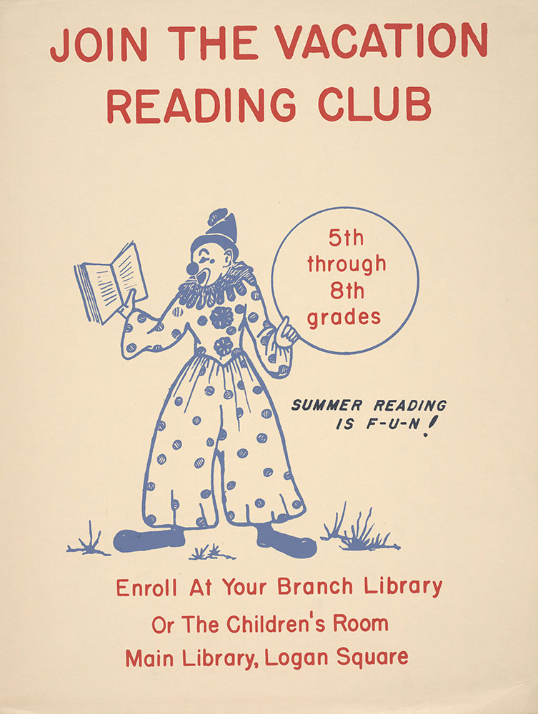 Undated - Summer Reading is F-U-N! - Poster