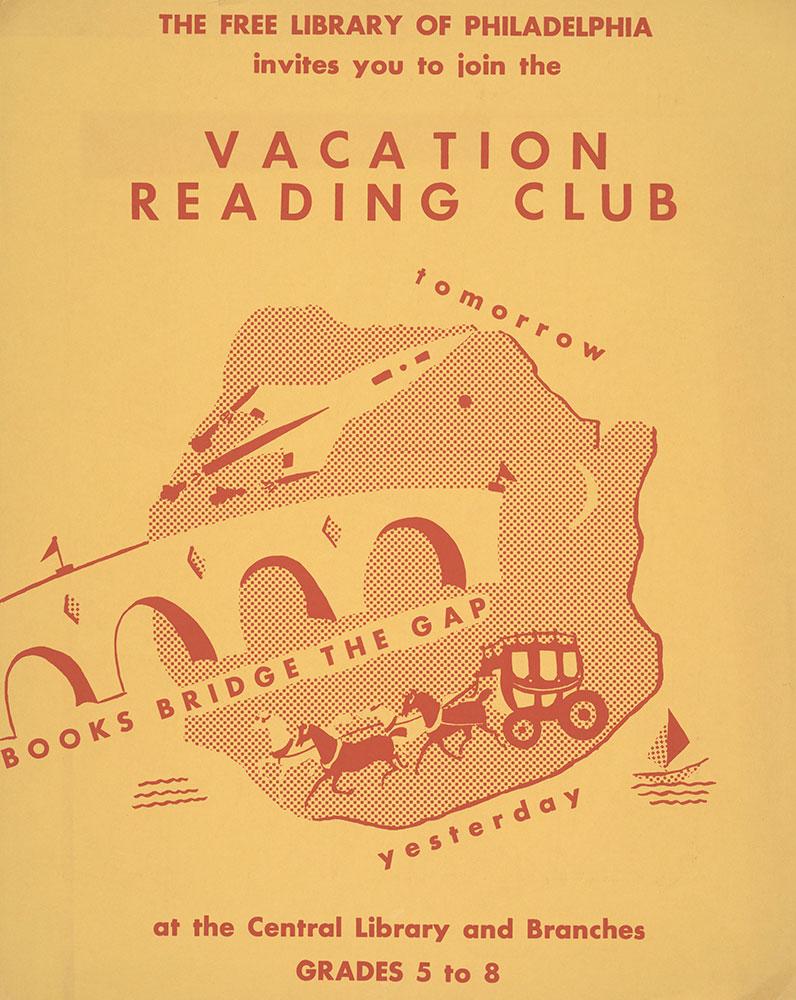 Undated - Vacation Reading Club - Books Bridge the Gap - Poster
