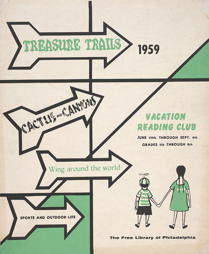 1959 - Vacation Reading Club - Poster