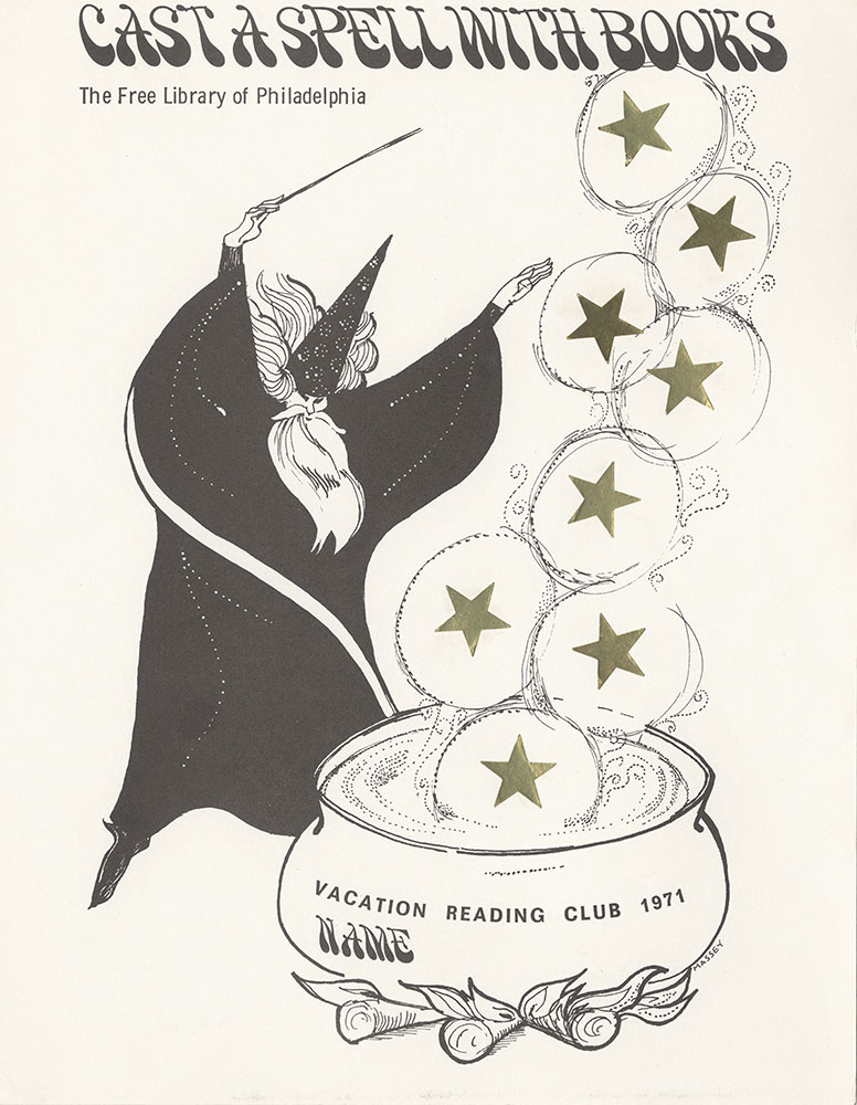 1971 - Vacation Reading Club - Cast a Spell With Books