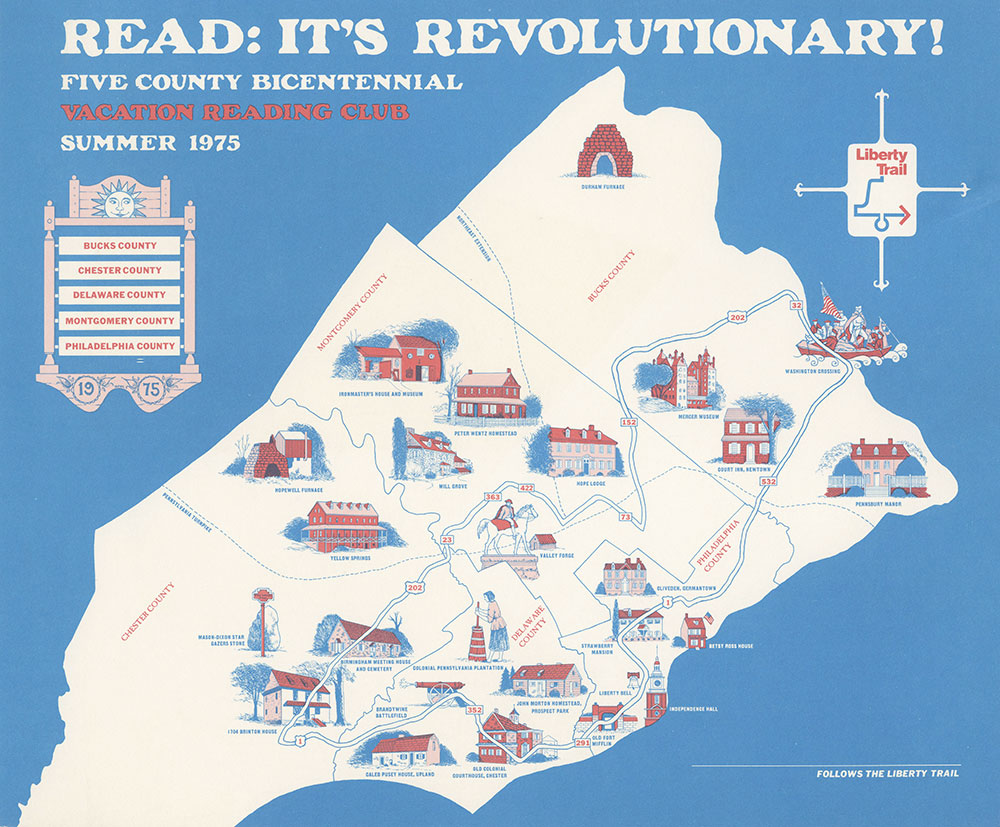 1975 - Vacation Reading Club - Read: It's Revolutionary! - Poster