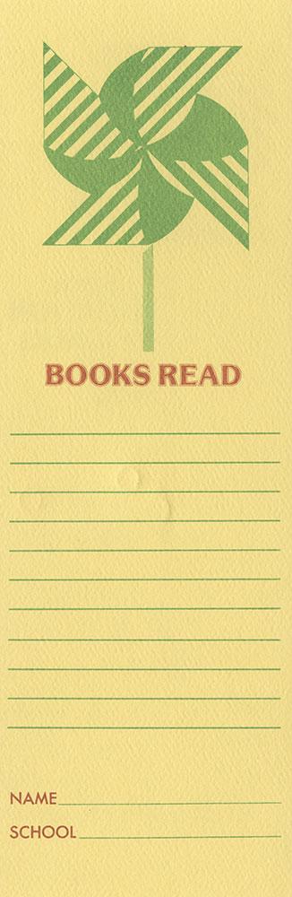 1978 - Junior Vacation Reading Club - Bookmark - verso
