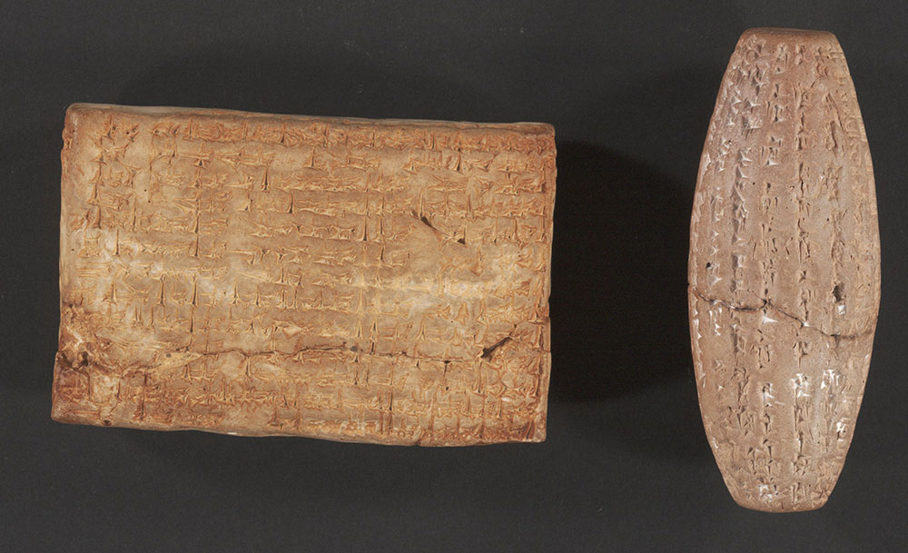 Collection of Cuneiform Tablets  and Cylinder Seal