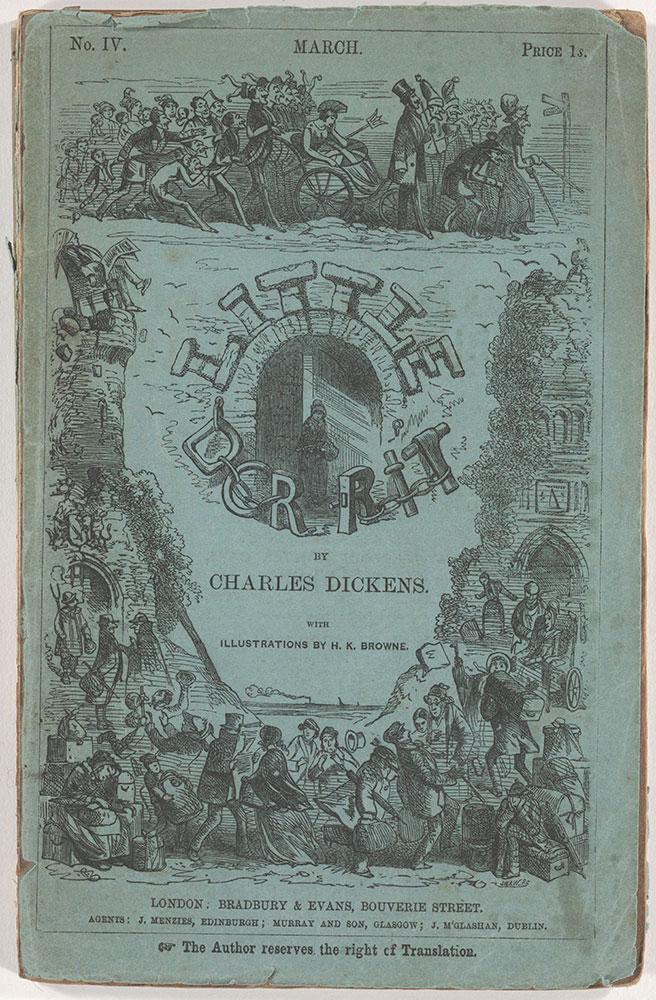 Little Dorrit, with illustrations by H[ablot] K. Browne.