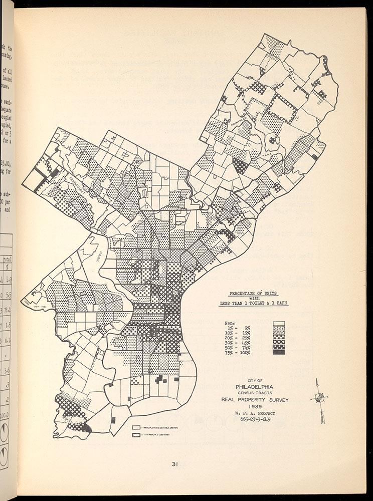 Real Property Survey and Low Income Housing Survey Philadelphia Pennsylvania