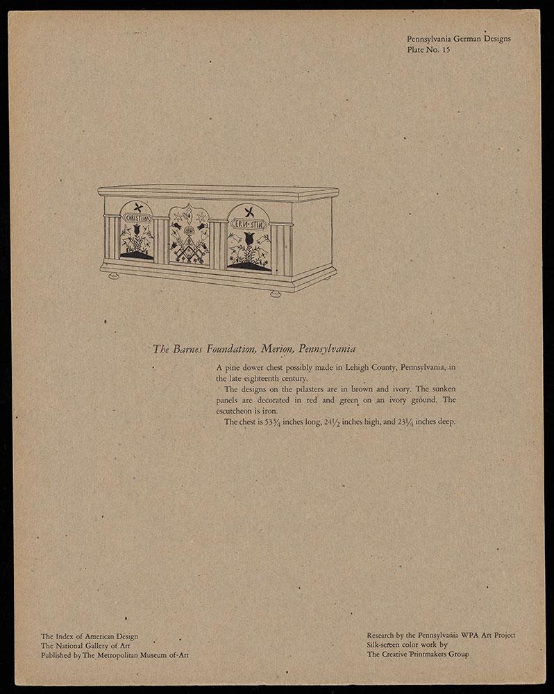 Pennsylvania German Designs: A Portfolio of Silk Screen Prints