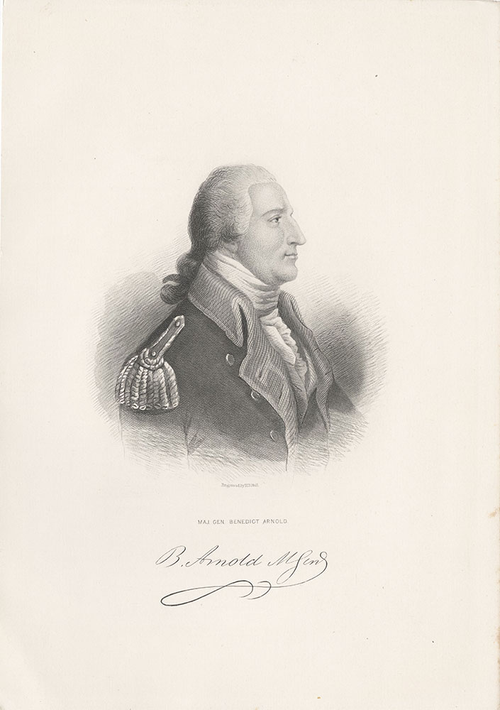 Maj. Gen Benedict Arnold